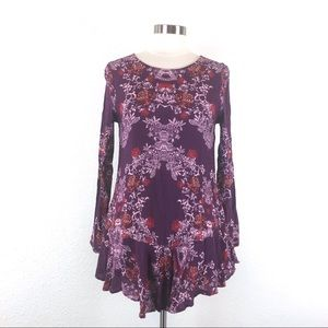 Free People Smooth Talker Tunic Long Sleeve Dress
